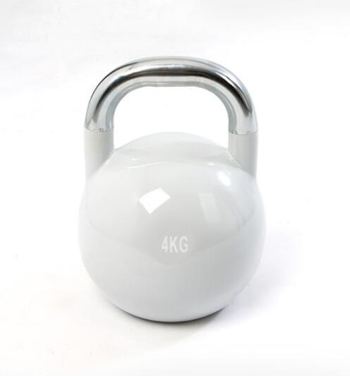 Fitness Lifting Pot Dumbbell Steel Kettlebell Stoving Varnish Kettle-bell Paint-baked Dumbbell