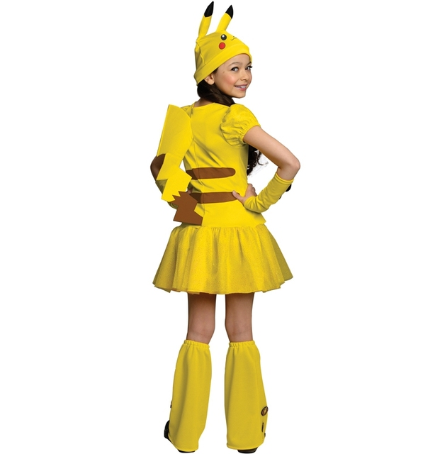 Cute Pikachu Costume