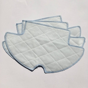 Image 3 - Vacuum Robotic Cleaner Parts for Haier SWR T320 T321 T325 vacuum cleaner parts side brush x6+ mop cloth x3+HEPA Filter x3