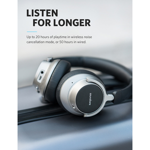 Image 3 - Anker Soundcore Space NC Wireless Noise Cancelling Headphones with Touch Control, 20 Hour Playtime, Foldable Design
