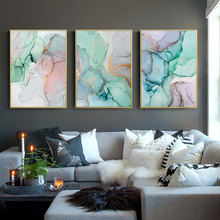 Abstract Painting Canvas Prints Colorful Watercolor Posters And Geometric Wall Art Nordic Living Room Unframed