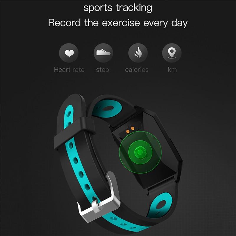 W1 Smart Bracelet Blood Pressure Measurement Color Screen Fitness Tracker Watch Waterproof IP68 Heart Rate Monitor GPS Tracker 4