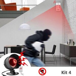 Image 4 - Система сигнализации Fuers, сирена, динамик, громкий звук, домашняя сигнализация, беспроводной детектор, система безопасности для дома, гаража