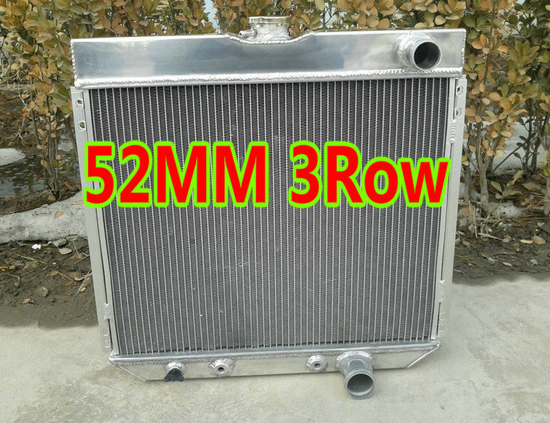 Aluminum 3 Row Performance Cooling Radiator for 1964 64 Ford Galaxie 500 I6//V8