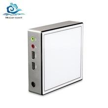 HLY Ultra thin Mini PC Core i3 4010Y i5 4210Y Celeron 2955U HDMI Wifi TV กล่อง HTPC สำนักงาน minipc Mini คอมพิวเตอร์ Windows PC
