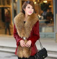 Winter Jacket Women Out Wear Faux Fur Coat Charming Plus Size Ladies Elegant Casual Luxury Faux