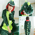 Super Natural Women Men Adult Winter Dragon Kigurumi Pink Green Grey Dinosaur Pajamas Onesie Hoodie Cosplay Costume For Party