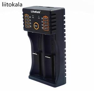 Image 2 - Carregador liitokala lii 202, para 1.2 v/3 v/3.7 v/4.25 v 18650/26650 recarregavel bateria recarregavel/18350/16340/18500/aa/aaa ni mh