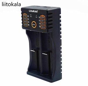 Image 2 - Liitokala Lii   202 charger for 1.2 V / 3 V / 3.7 V / 4.25 V 18650/26650/18350/16340/18500 / AA/AAA Ni MH bateria recarregavel