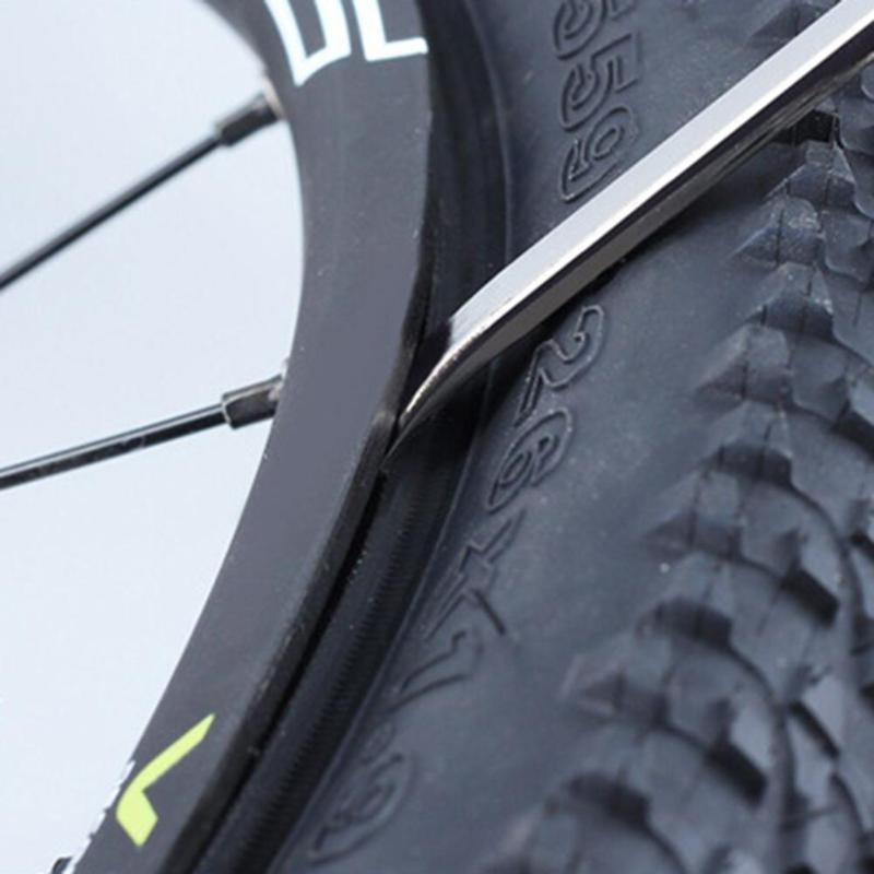 3pcs/set  Bicycle Tire Levers Tyre Remover Repair Tool Bicycle Tire Levers Curved Stainless Steel Practical MTB Mountain Tools