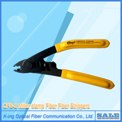 Fiber Optic Cable Stripper For Stripping 125 Micron Fiber, Double-nose pliers ,Forceps  ,FTTH Tools ,CFS-2