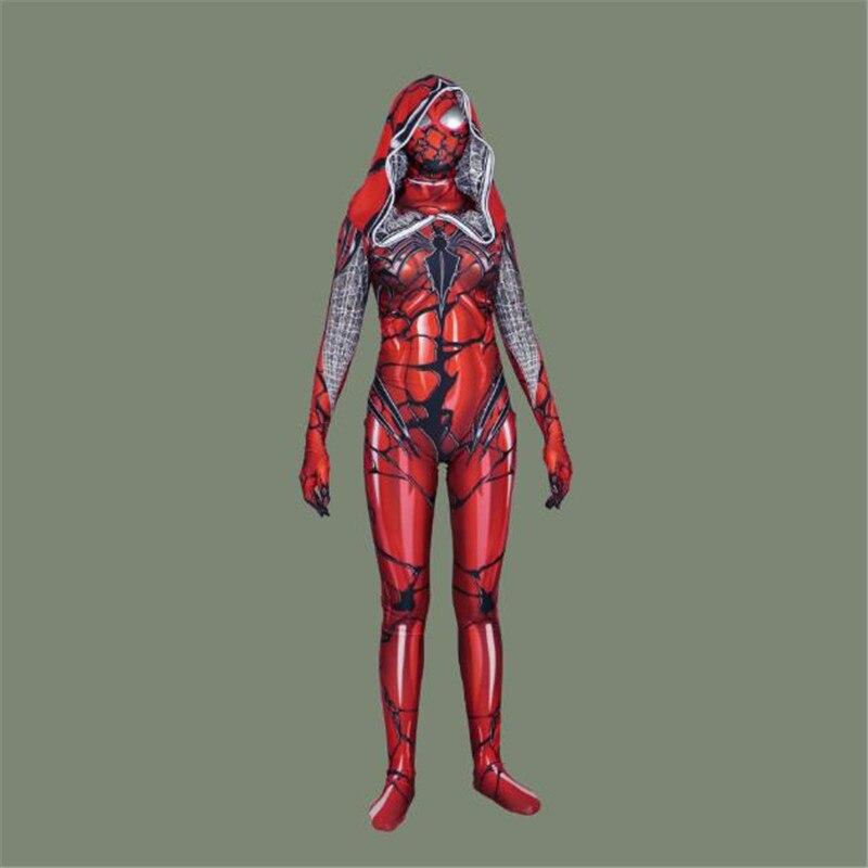 BOOCRE film gardiens de la galaxie Cosplay venin Spider-Man combinaisons Costumes d'halloween trois couleurs de style