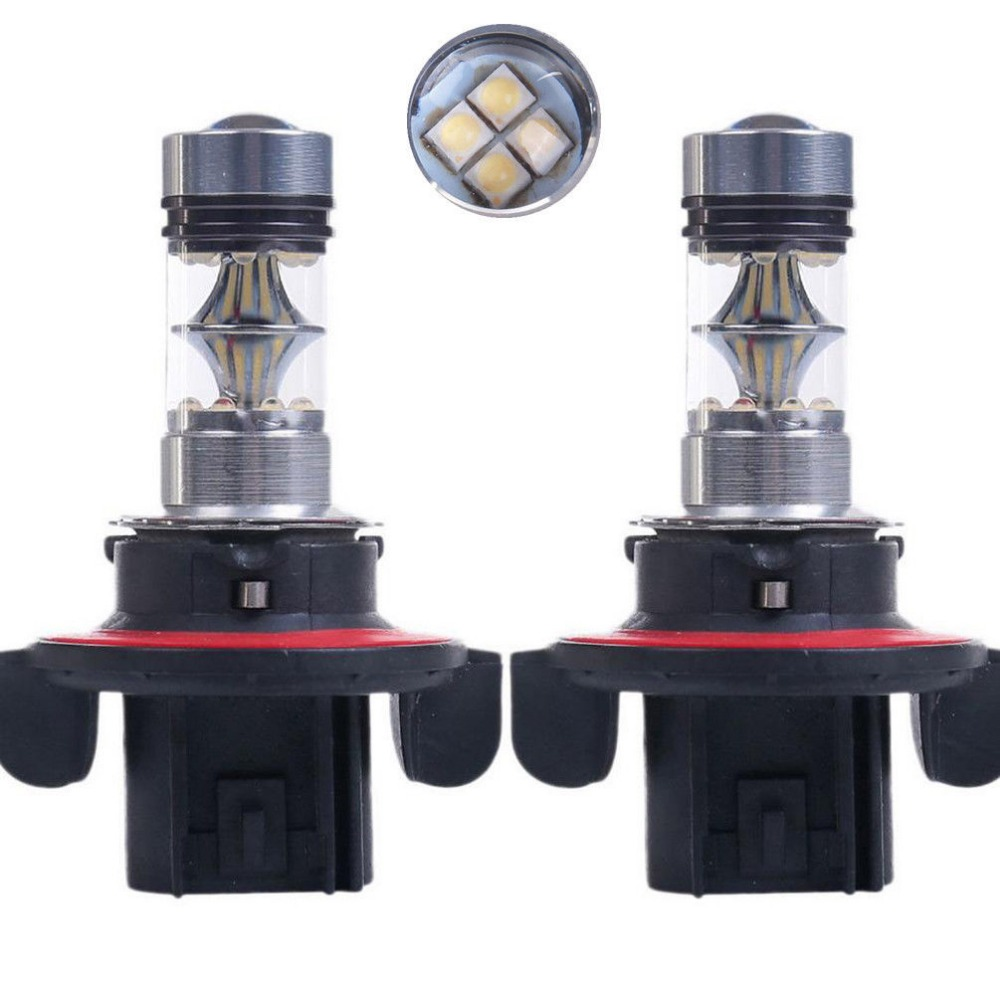 2X H13 9008 100W Projector 20 SMD Bulbs Car Headlight Fog Driving DRL Led Lights In Light Assembly From Automobiles Motorcycles On Aliexpress