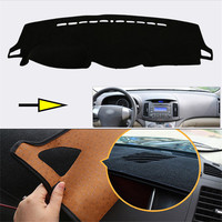 New Interior Dashboard Carpet Photophobism Protective Pad Mat For Hyundai Elantra 2011 2015