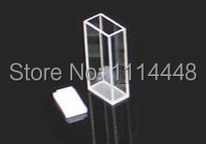 New Standard 1cm 2cm 10mm 20mm Large Cell Fluorescence Quartz Cuvette with PTFE Stopper new 10 1