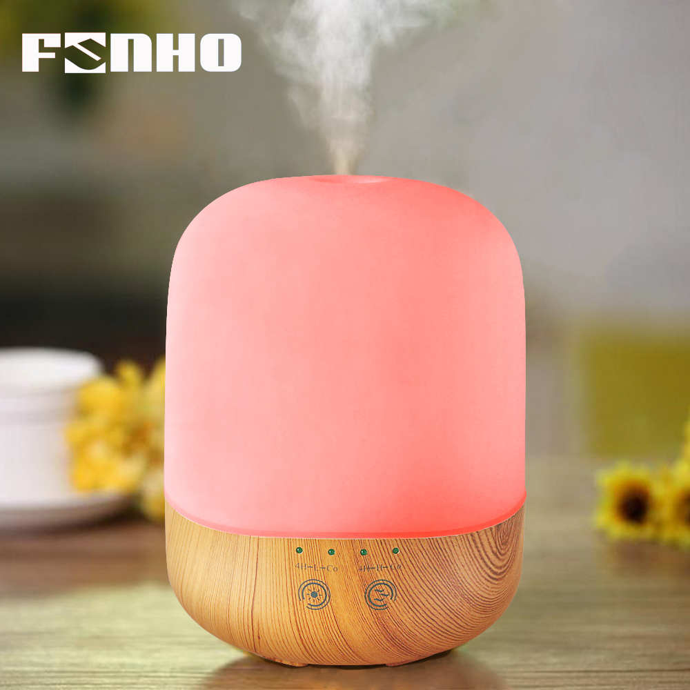 FUNHO 300ml Air Humidifier Ultrasonic USB Led Night Lights Aroma Aromatherapy Essential Oil Diffuser Mist Maker For Home 300A цена и фото