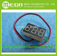 Green Second line precision dc digital voltmeter head LED digital voltmeter DC4.5V30V