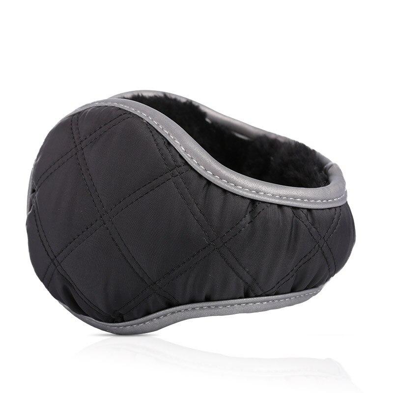 Winter Earmuffs Unisex Foldable Ear Warmers Adjustable Warm Plush Earflap Warmer