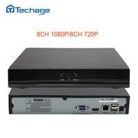 Techage Mini NVR Full HD 8 Channel Security CCTV NVR 1080P 8CH ONVIF 2 0 P2P
