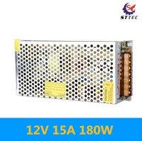 High Quality AC 110V220V to DC12V transformer 12V 15A 180W Switch Power Supply Driver