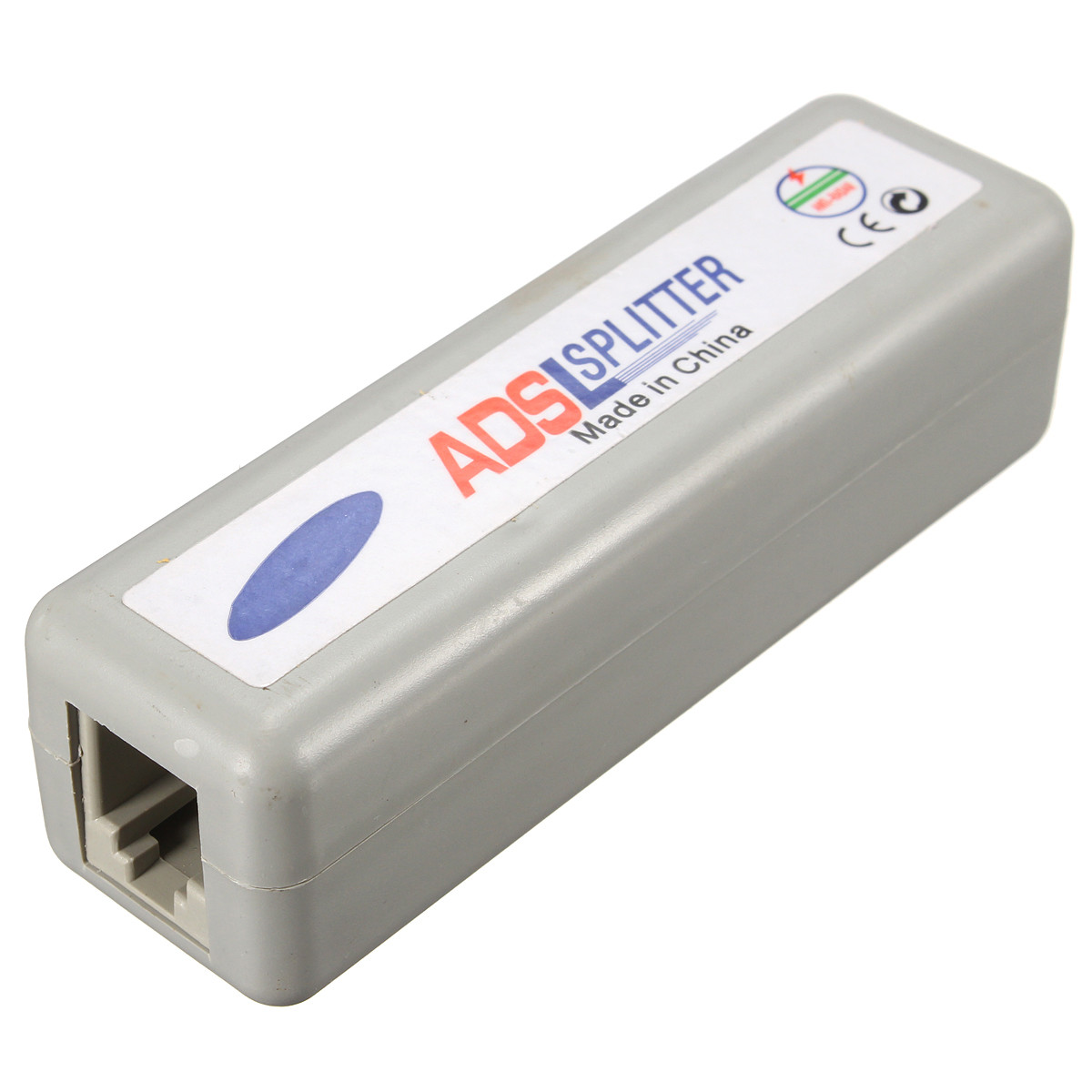 Practical Quality RJ11 ADSL Line Splitter Fax Modem Broadband Phone Network Jack Noise Filter