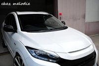 NOBLESS Style 1 Pair Primer Unpainted ABS Sports Car Front Headlight Lips Splitter Brow For HONDA