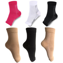 3 Pairs Women Ankle Heels Profession Men Compression Socks Foot Angel Sleeve Heel Arch Support Pain