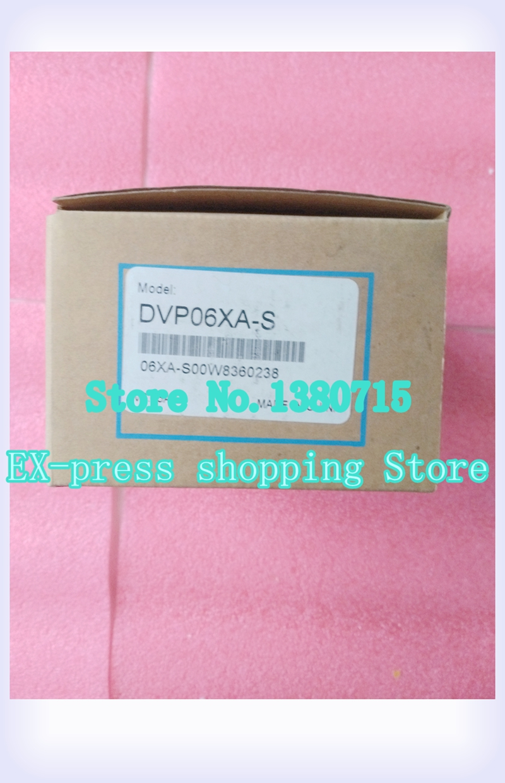 цена на New Original DVP06XA-S PLC 4AI 2AO Module