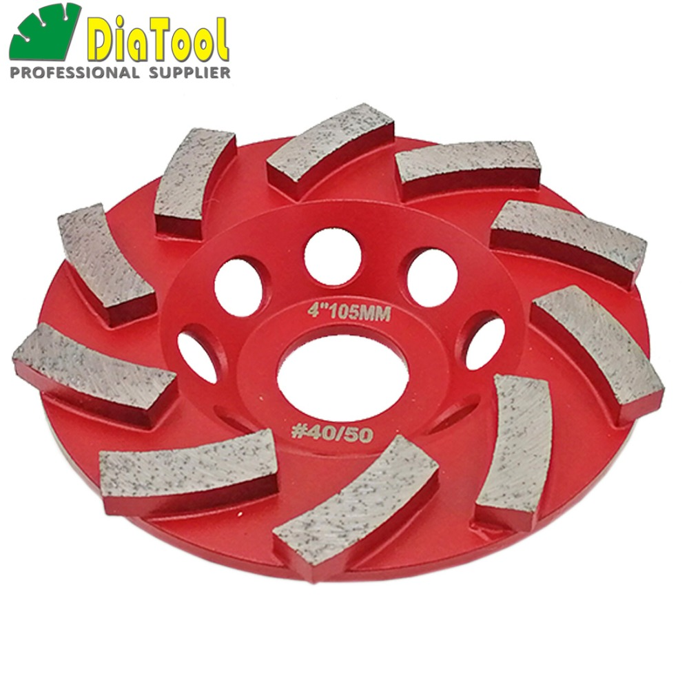 """Image 2 - DIATOOL Diamond Segmented Turbo Grinding Cup Wheel for Concrete and other construction material  4"""" 4.5"""" 5"""" 7"""" availablecup wheelgrinding cup wheelcup grinding wheel -"""