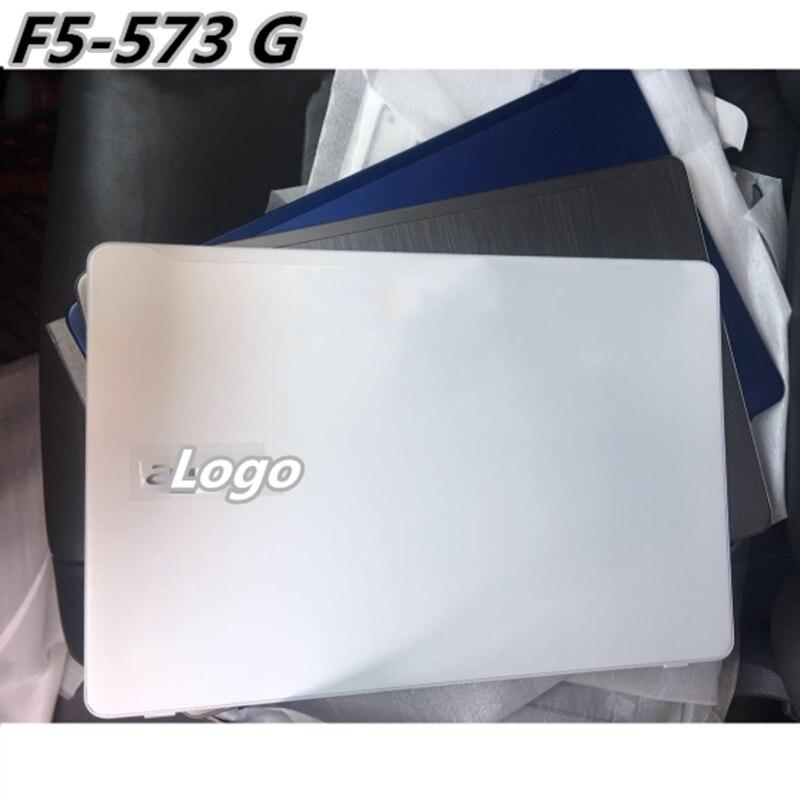 Novo LCD Back Cover Tampa Do Descanso de Mãos Top Case Para Acer F5-573 F5-573G Tampa Da Base Inferior
