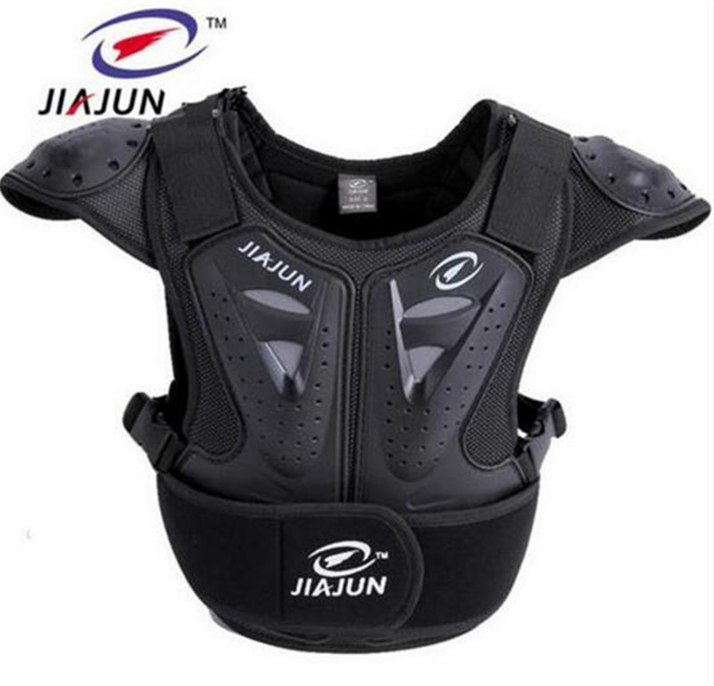 JIAJUN Children's Motorcycle Protective Gear Security Sports Safety Ski Protection Chest Care Back For Kids