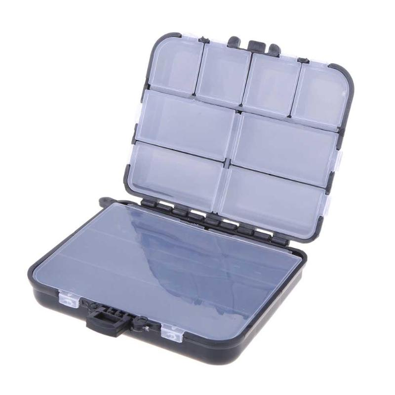 Waterproof Fishing Tackle Boxes 26 Grids Fly Fishing Box Plastic Storage Case Lure Spoon Hook Bait Tackle Connector Pesca|Fishing Tackle Boxes| |  - title=