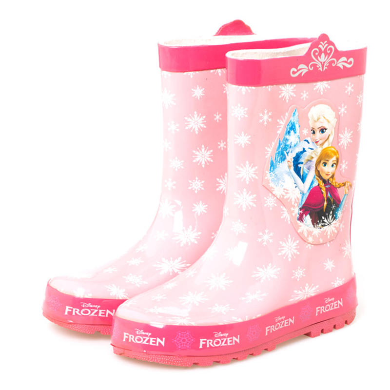 Disney Frozen 2 Bottes de pluie en caoutchouc 3D Elsa Anna