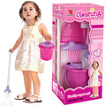 Diversión play set niños niñas rosa barrido de limpieza de limpieza de juguetes educativos para niños regalos