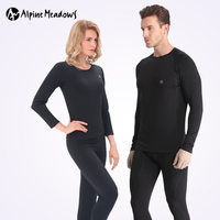 New 2017 Winter Thermal Underwear Sets Men Quick Dry Long Johns Women Breathable Thermo Underwear Velvet
