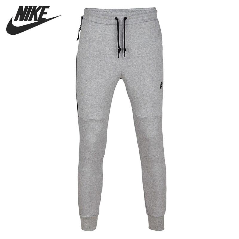 Оригинальный NIKE TECH Флис PANT-1MM для мужчин's брюки для девочек Спортивная