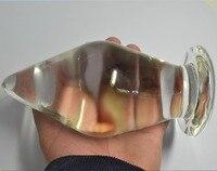 82*150 ملليمتر السوبر كبيرة زجاج شرجي التوصيل ، التوصيل بوت الكبير شرجي التوصيل الشرج المكونات الذيل ألعاب مثيرة زجاج قضبان اصطناعية الشرج مثل...