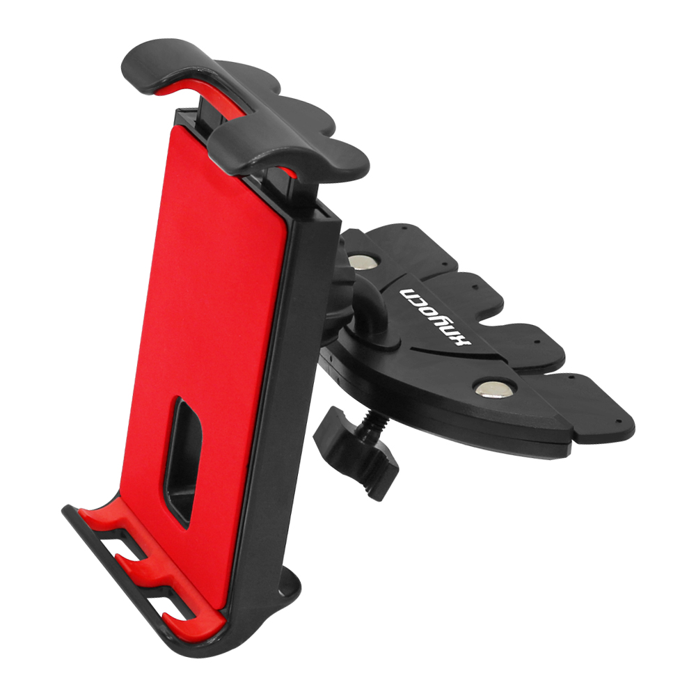 Universal 4 - 11 Inch Tablet Holder Car CD Slot Tablet Bracket Mobile Phone Holder Mount Stand Rotatable For IPad Samsung Pad