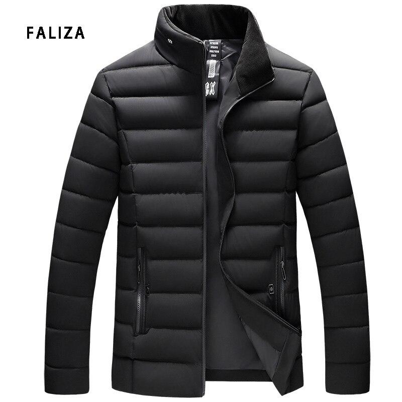0c102f11b Winter Cloth Armygreen Bomull 4xl Herrejakker 2018 Brand Outwear ...