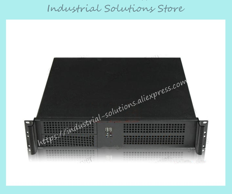 New 2U Computer Case Server 38cm 6 3.5 Hard Drive 9 2.5 Hard Drive 1.2 new 2u industrial computer case 2u server computer case 6 hard drive 2 optical drive 550 large panel high