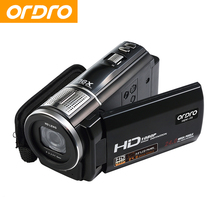 Cheaper ORDRO HDV-F5 Digital Camera 16X Digital Zoom 1080P 24MP Full HD Video CMOS Sensor Digital Photo Camcorder Support Face Detection