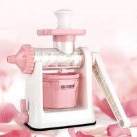Manual Juicer Home Hand Crusher Fruit Ice Cream Machine Juice Lemon Orange Apple Squeezers Reamers Kitchen