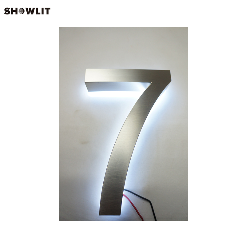 Home Decorative Powered LED Lighted House NumbersHome Decorative Powered LED Lighted House Numbers