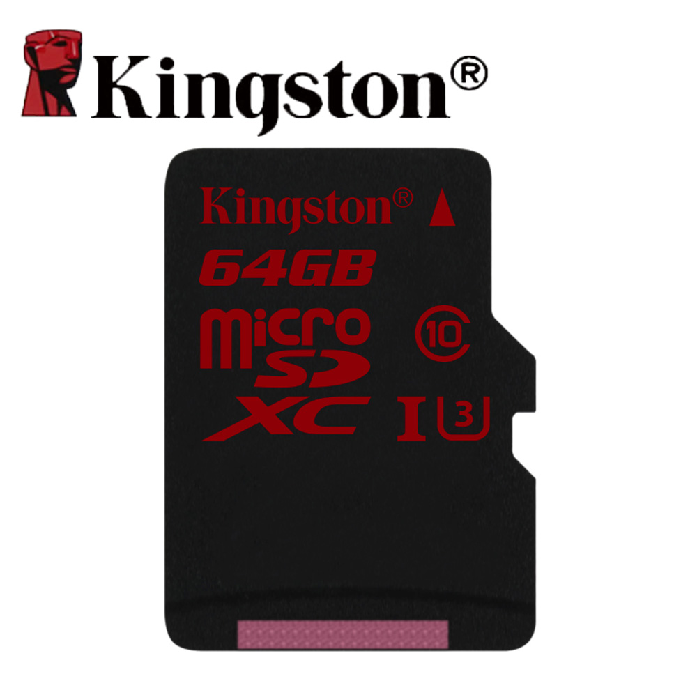ФОТО Kingston cartao de memoria 64 gb microSD SDXC UHS I U3 memory card