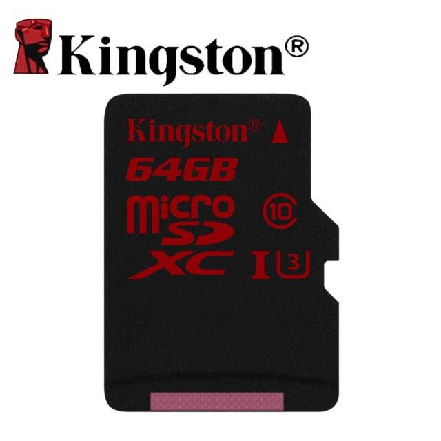 Kingston microSD картао де memoria 64 ГБ U3 SDXC UHS-I карт памяти