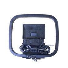 Мини Универсальный FM/AM петля антенный разъем для приемника для sony Sharp Chaine Стерео AV Приемник системы