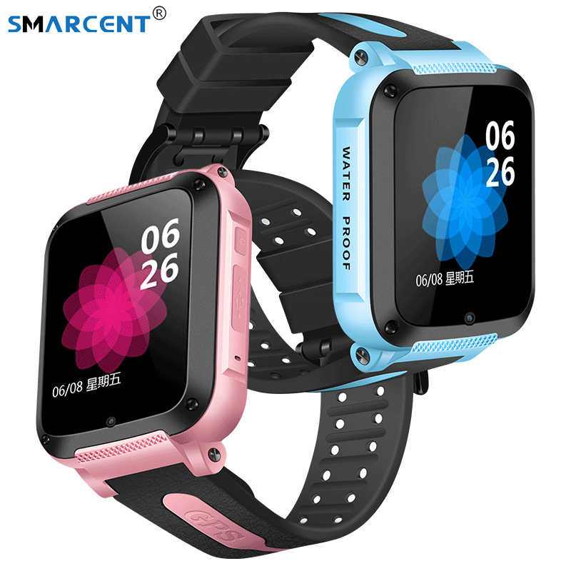 IP67 Waterproof Smart GPS Location SOS Call Remote Monitor Camera Wristwatch Tracker Kids Child Students Facebook Whatsapp Watch