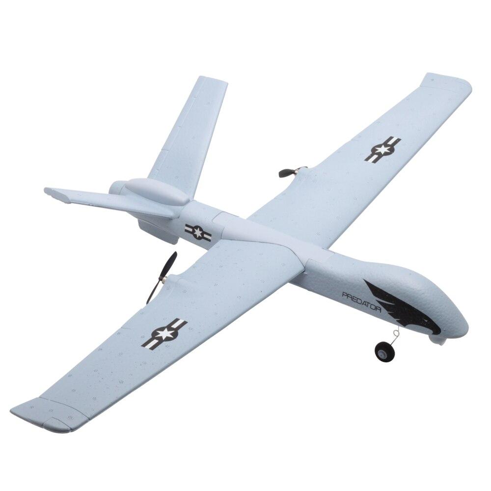Avion RC Avion Z51 20 Minutes de Temps De Vol Planeur 2.4G Volant Modèle avec LED Main Jetant Envergure Mousse Avion Jouets pour Enfants 5