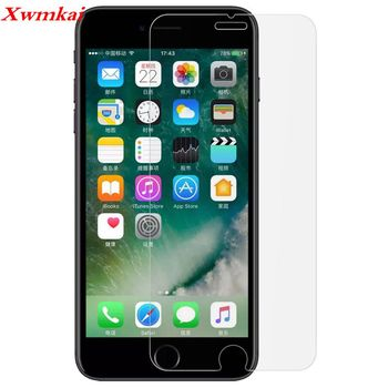 2.5D folia ochronna hd szkło hartowane dla Iphone11 pro X 6 6S 7 8 Plus XS max XR 9H folia ochronna przeciw odciskowi palców dla Se 5S