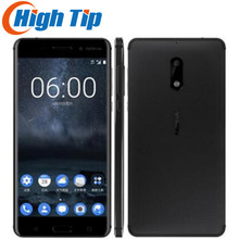 "Nokia 6 Original   Android 7.0 Smartphone Nougat Wi-Fi 5.5"" 4GB RAM 64GB ROM Fingerprint Dual SIM Multi-language Support"